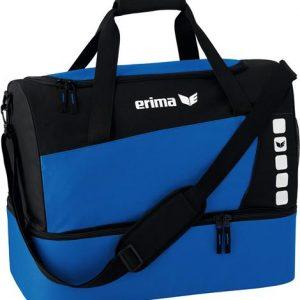 Erima Sporttas Club 5 Line bodemvak blauw