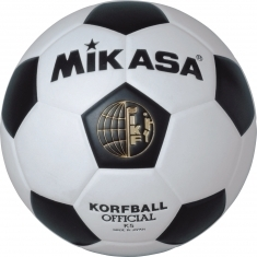 Mikasa Korfbal zwart-wit