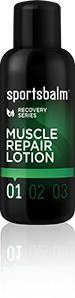 Sportsbalm muscle repair lotion