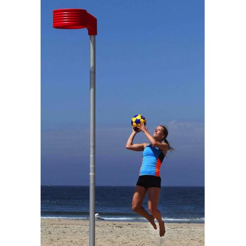 Beachkorfbalpaal