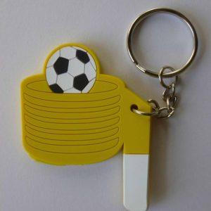Sleutelhanger korfbalpaal met bal