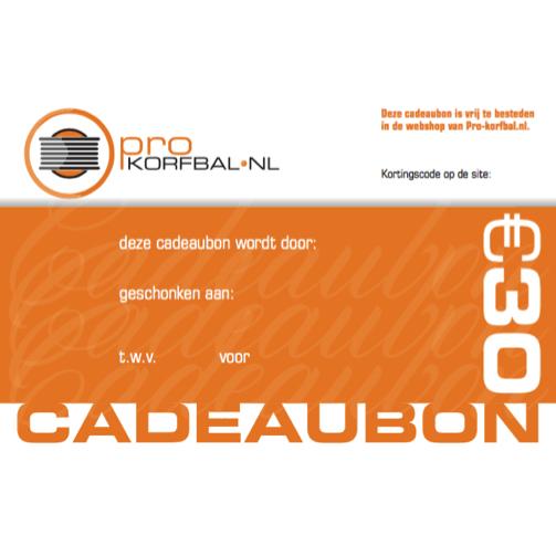 Cadeaubon Pro-korfbal.nl