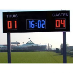 Outdoor scorebord korfbal
