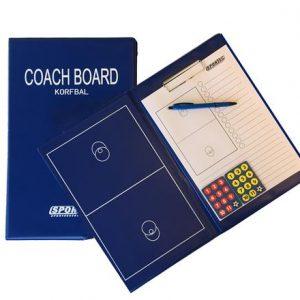 Sportec magnetische coachmap korfbal met clip