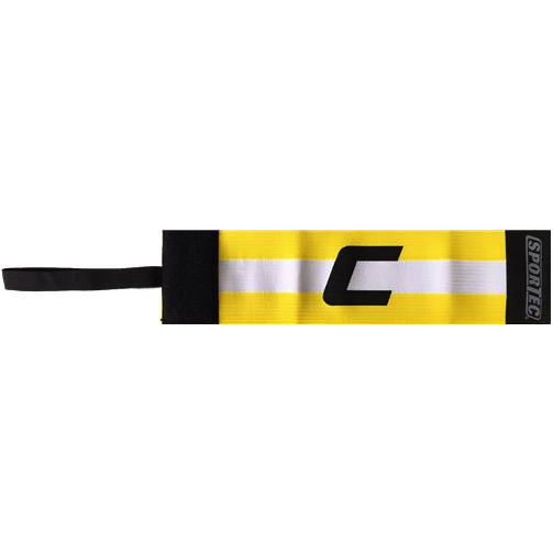 Sportec aanvoerdersband geel