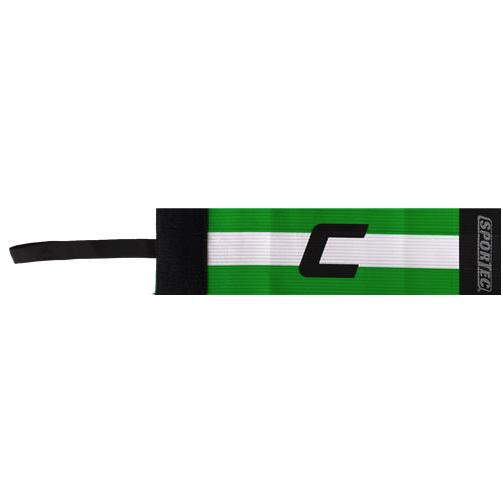 Sportec aanvoerdersband groen