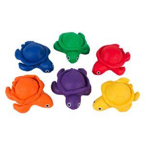Pittenzakken schildpad